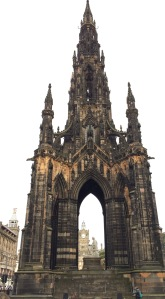 Scott Monument in Edinburgh
