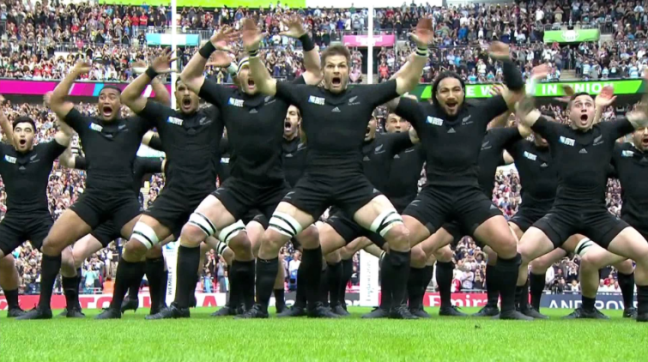 All Black's haka