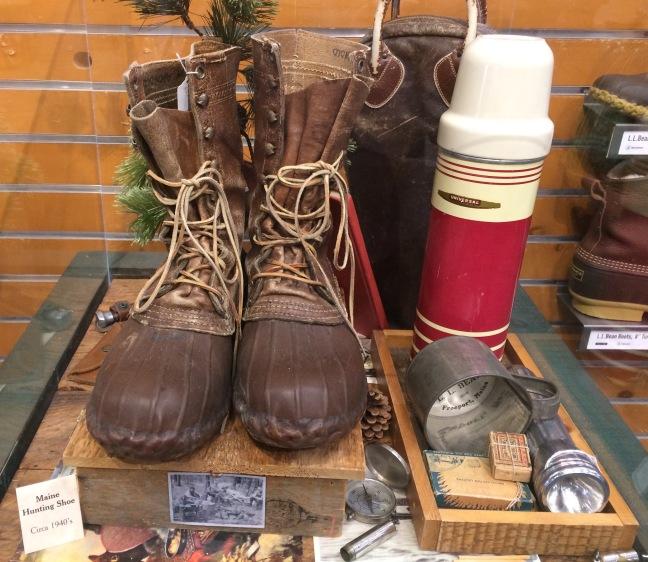L.L. Bean 1940s duck boots