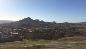 View of San Luis Obispo from Poly P