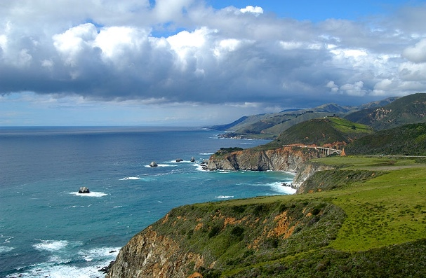 Big Sur northward view