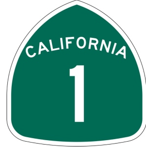 California Highway 1 shield
