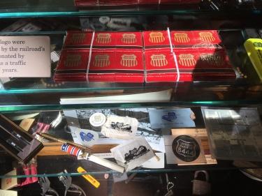 Boise Depot memorabilia