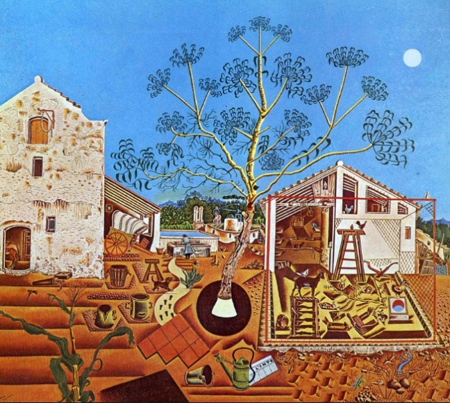 The Farm by Joan Miró