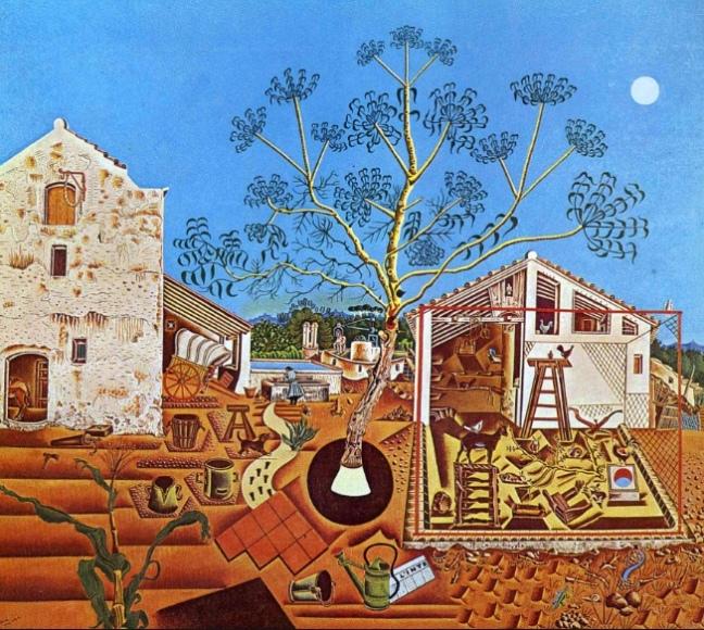The Farm by Joan Miró