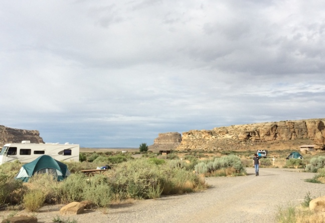 Chaco campground