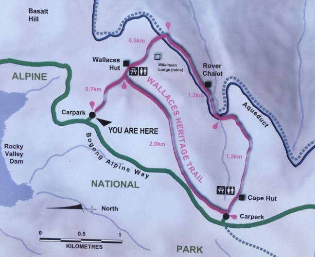 Map of Wallaces Heritage Trail
