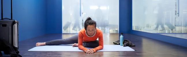 SFO Yoga Room