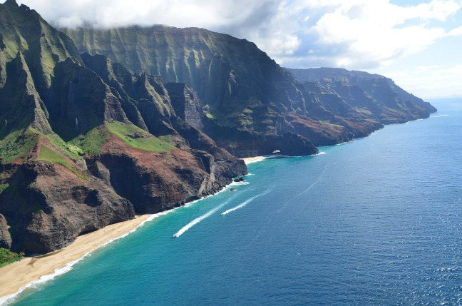 View from the Kalalua Trail